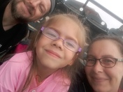 Granddaughter's 1st baseball game and the Barnstormers WON!!!