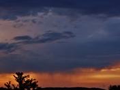 sunset & clouds, 5-22-2018