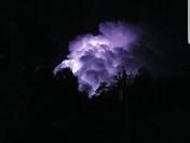 Lacombe Lightening Storm