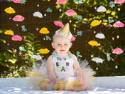 Bree's First Birthday