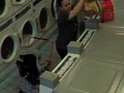 In a Dedham High Street laundromat this person stole my daughter's comforter.