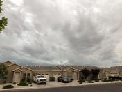 Heavy clouds in Hobbs NM