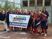 Ausable Valley Varsity Patriots 2018 section 7 champions against Ticonderoga