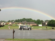 Rainbow in Siloam Springs
