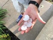 Hail from Huxley, Iowa