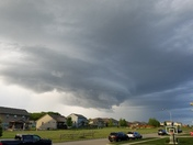 Clouds above Ankeny
