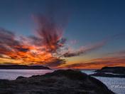 Ochre Pit Sunset