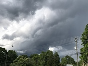 Scary clouds in kernersville