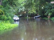 Lots of rain in Stuart. Good thing we have boats!