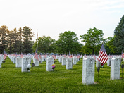 Memorial Day Weekend at Glendale Cemetery