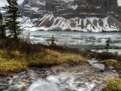 Bow Lake stream