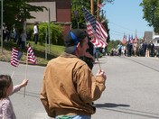 Memorial day in Greenville nh