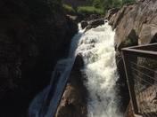 Algonquin Waterfall