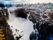 Wells Gray in the winter.