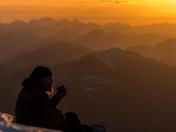 Kings Peak Summit Sunset