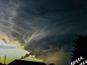 Sayre,OK Storms on May 29th 8pm.