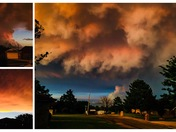 Sayre, OK Stormy Sunset on May 25th.