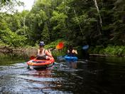 Kayaking In Arrowhead Provincial Park