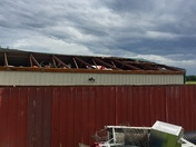 We believe we might have had a microburst at our home