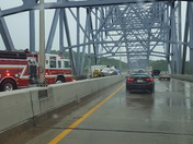 West bound 275 on the Carroll Cropper Bridge right after it happened.