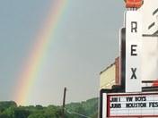 Rainbow Over the Rex