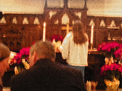 Little altar girl