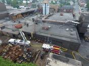 Donsco foundry fire damage