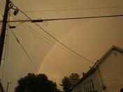 Double rainbow near Walkertown