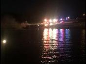 Boat Fire cherryglen saylorville