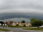 Storm almost here