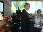 Graduation party at the Keene country club