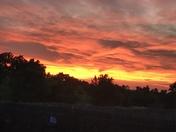 Sunset on Cherokee Hills