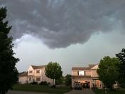Storms rolling into West Des Moines