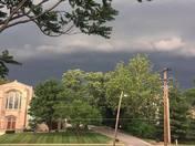 Storm hits Des Moines
