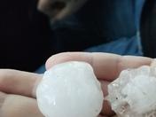 Hail on 6/6