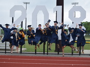 How happy are these new graduates from Sandwich High School!!
