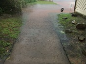 French drain couldn't keep up!