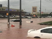 Flooding in OKC today