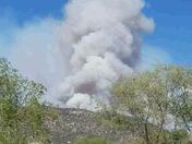 Mescalero fire