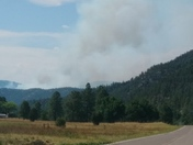 Mescalero Soldier Fire