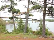 the bridge o the iland