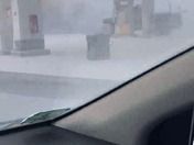 White powder erupted from a local gas station in Burlington MA on route 3A