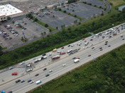 I uploaded the past 4 drone images of the I-275 crash this afternoon