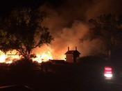 Fire near Jemez