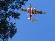 Cal Fire taking out the Scotts Valley Quarry Fire