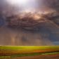 Rainbow storm
