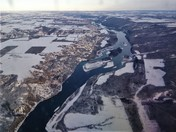 Aerial of The Peace River
