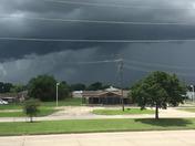 Afternoon Thunderstorms in Meraux, LA.