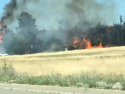 This is a fire that happened today at 230 pm Monday June 11th in Lincoln.