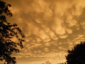 Post-storm mammatus